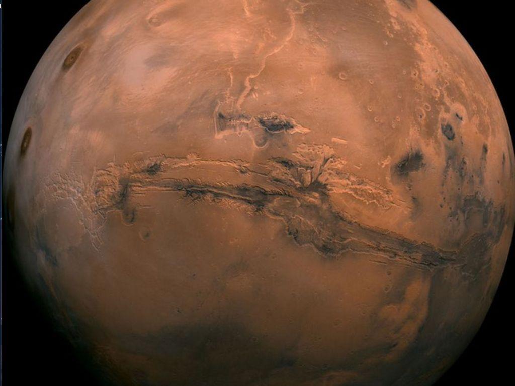 Ini Nyata! Begini Permukaan Mars Dalam Resolusi 4K