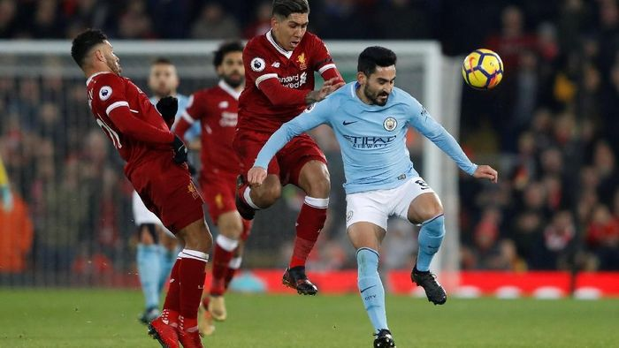Liverpool menantikan laga sengit lagi kontra Manchester City. (Foto: Carl Recine/Action Images via Reuters)