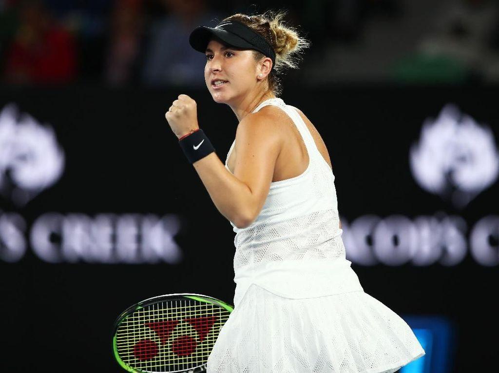 Ada Federer di Balik Kemenangan Belinda Bencic atas Venus