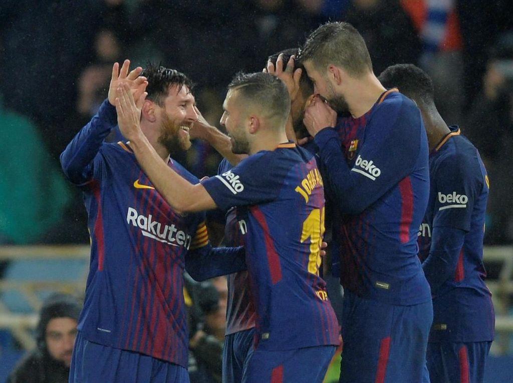 Alba: Kami Bakal Dibunuh di Barcelona kalau Tertinggal 19 Poin dari Madrid