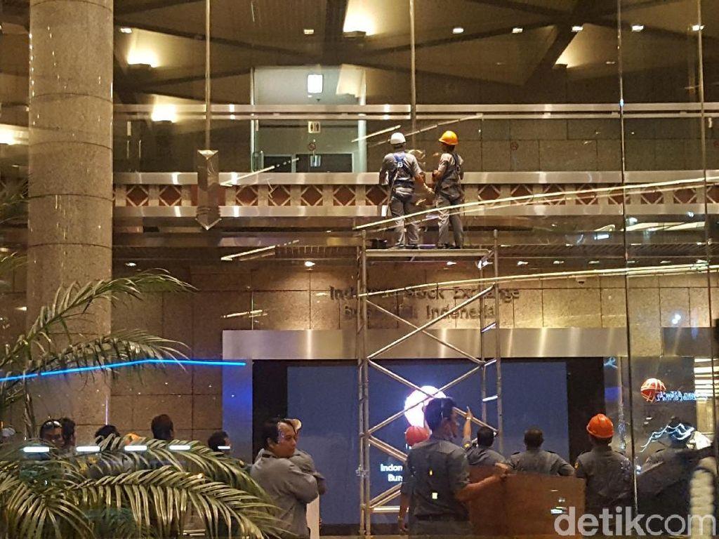 Polisi masih Selidiki Unsur Pidana di Kasus Ambruknya Selasar BEI