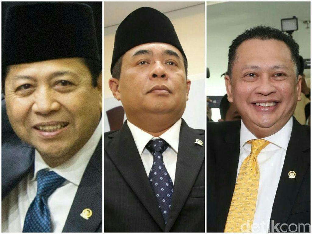 Ditambah Bamsoet, Ini Momen 4 Pelantikan Ketua DPR di 1 Periode