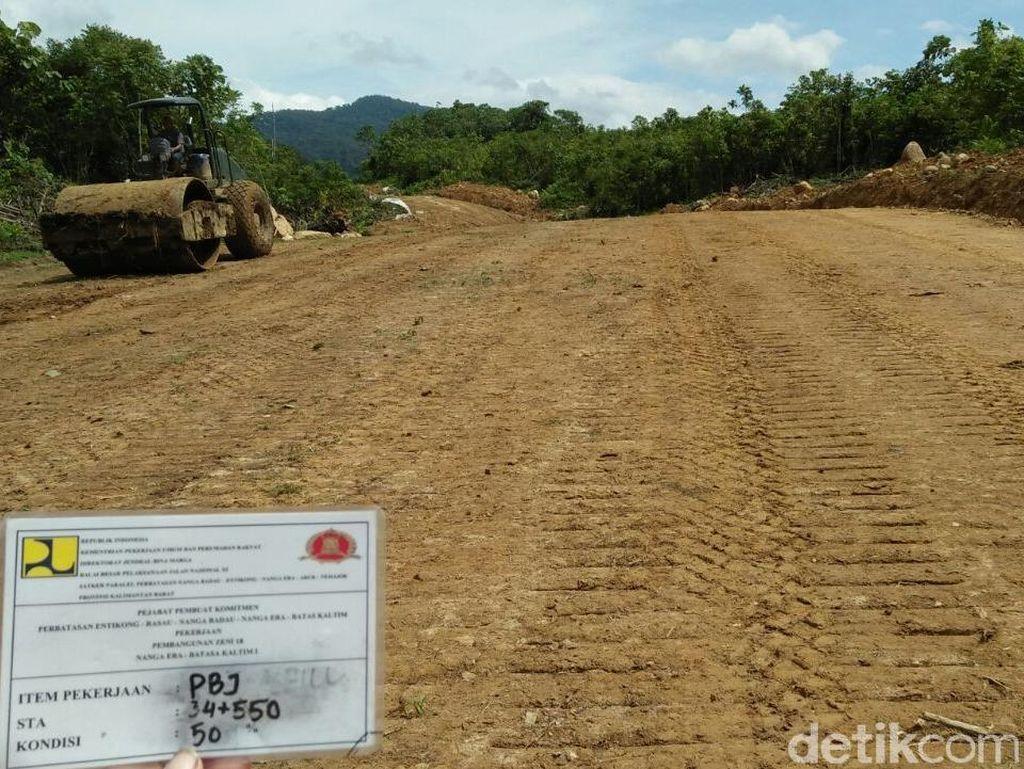 Setelah Papua, Giliran Kontrak Jalan Perbatasan Kalbar Diteken