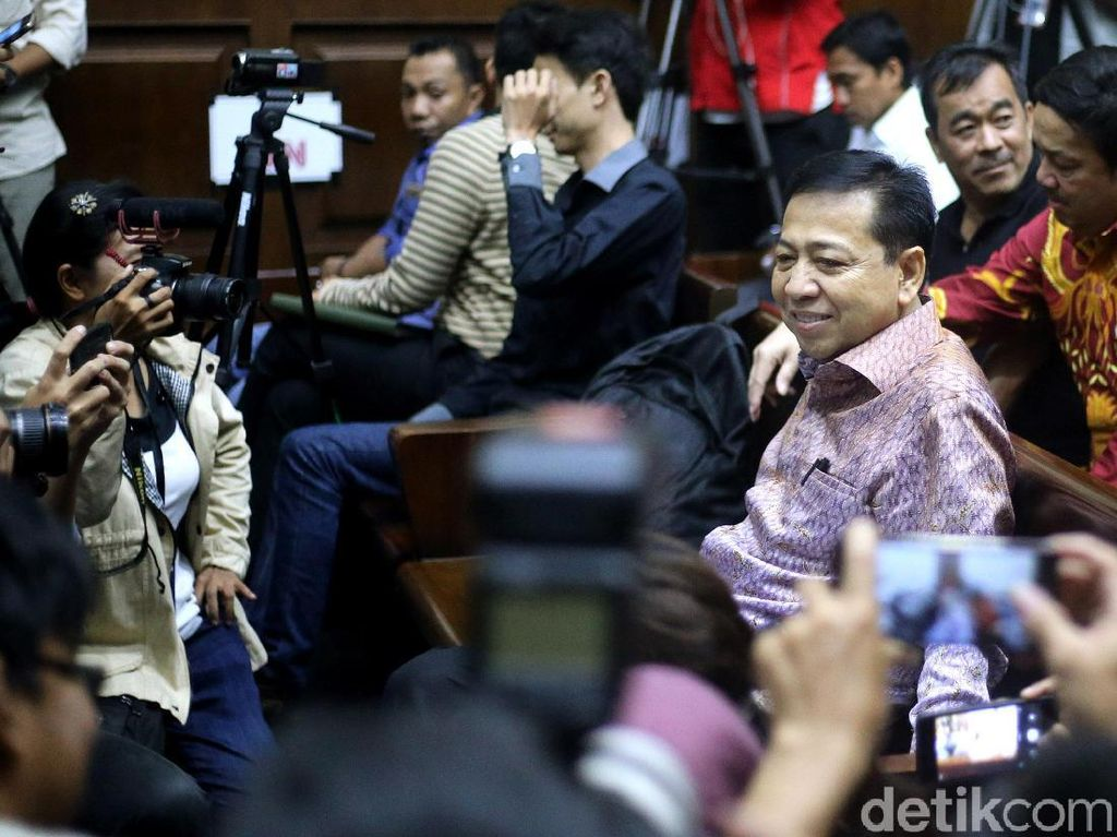 KPK Tepis Minta Setya Novanto Jadi Justice Collaborator