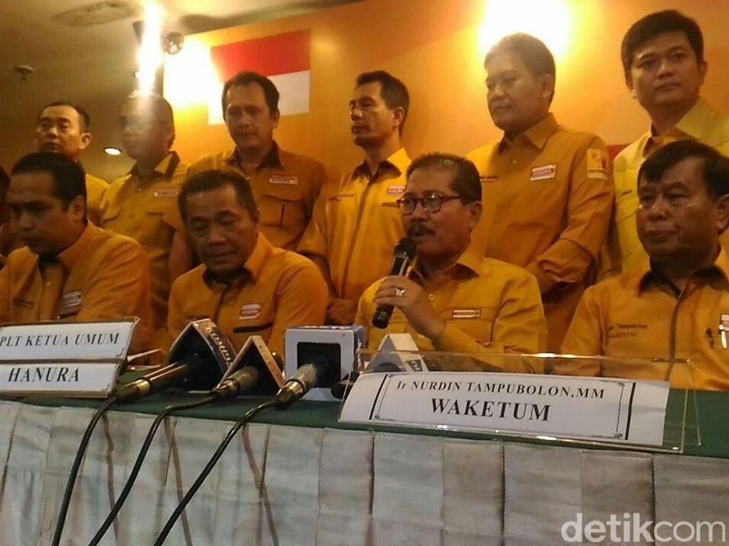 Pasca-konflik, Hanura Rotasi Sudding dari Pimpinan MKD dan Komisi III