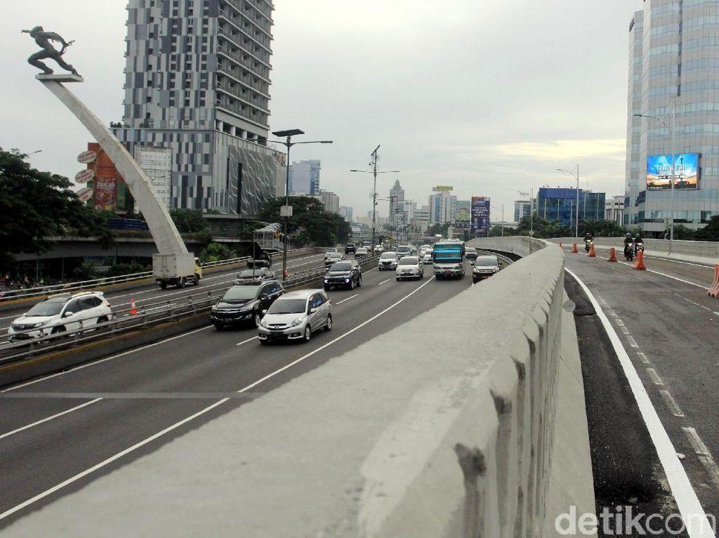 Flyover Pancoran Diprediksi Kurangi Macet hingga 50%