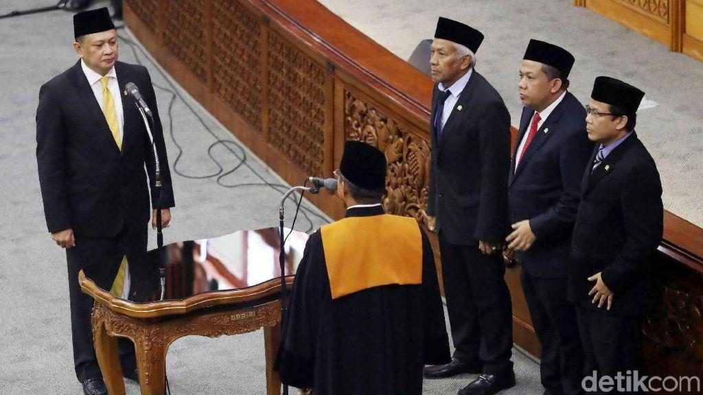 Gantikan Novanto, Bamsoet Resmi Jadi Ketua DPR