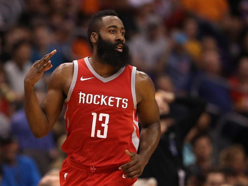 Curry Unggulkan Harden Menangi MVP