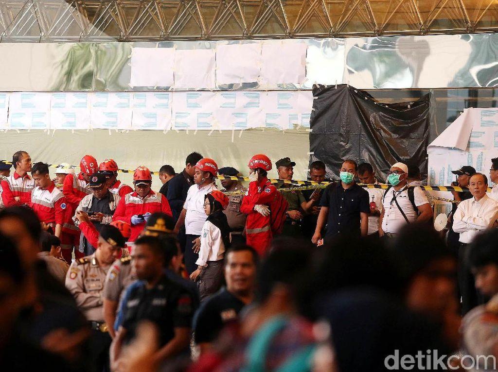 Selasar BEI Ambruk: 17 Orang Dirawat di RS Jakarta, 3 Orang Pulang