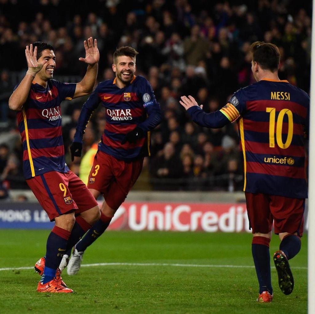 Suarez dan Messi Yakin Barca Akan Juara di Musim Ini