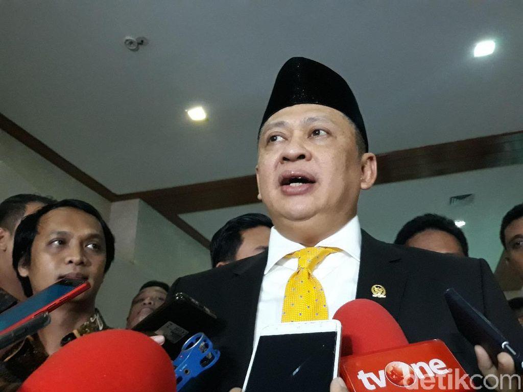 Bambang Soesatyo Jamin DPR Tak Revisi UU KPK