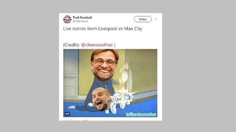 Liverpool Vs City Dalam Meme Meme Lucu