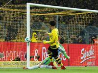 Tanpa Aubameyang, Dortmund Diimbangi Wolfsburg