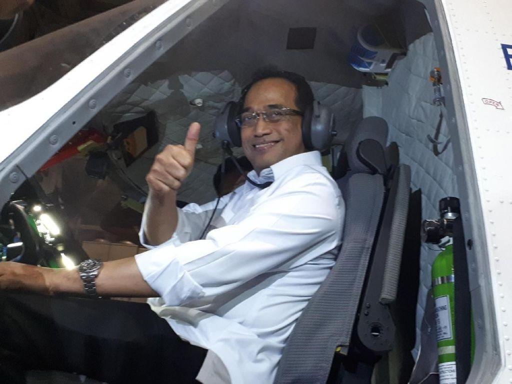 Pertama Kali Lihat Pesawat Nurtanio, Menhub: Bangga dan Surprise