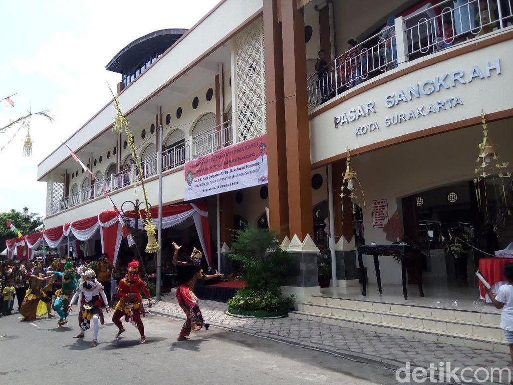 Pasar Wisata Sangkrah Solo Diresmikan, Pedagang Suvenir Belum Siap