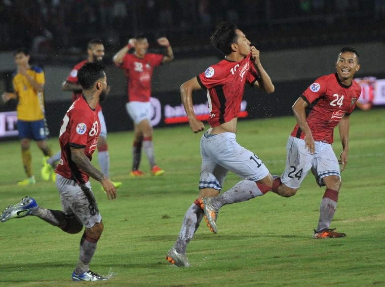 Bali United Kalahkan Tampines Rovers 3-1