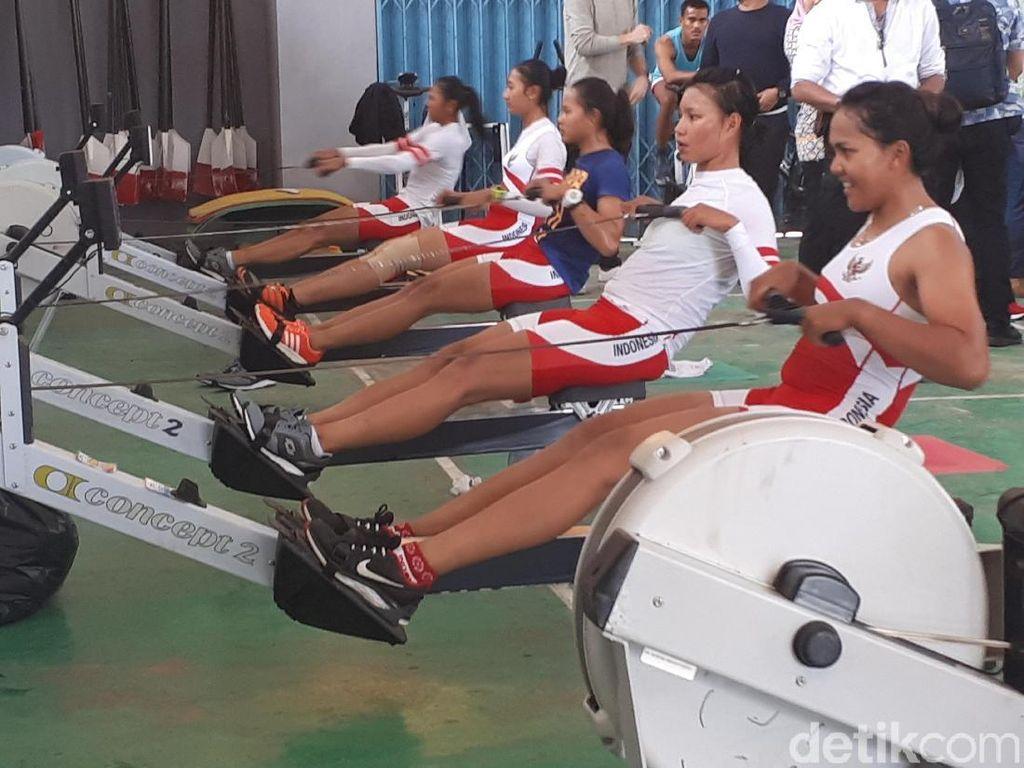 Persiapan Akhir Asian Games, Atlet Rowing ke Australia dan Belanda
