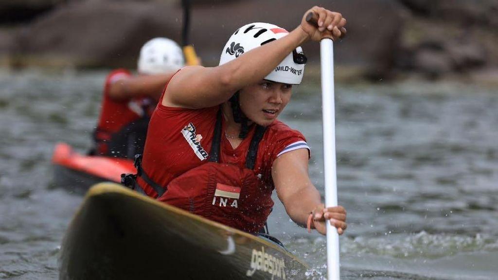 Menuju Asian Games, Timnas Dayung Berlatih di Bawah Terik Matahari dan Hujan