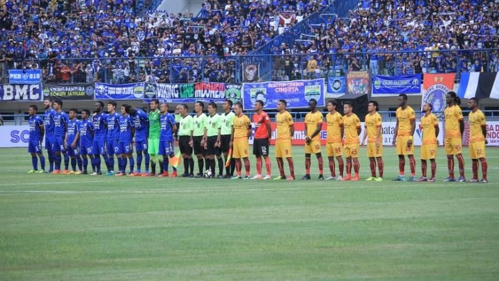 Persib vs Sriwijaya Masih 0-0 di Babak Pertama