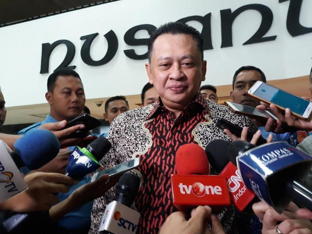 4 Hari Menjabat, Bamsoet Didemo agar Lengser dari Kursi Ketua DPR