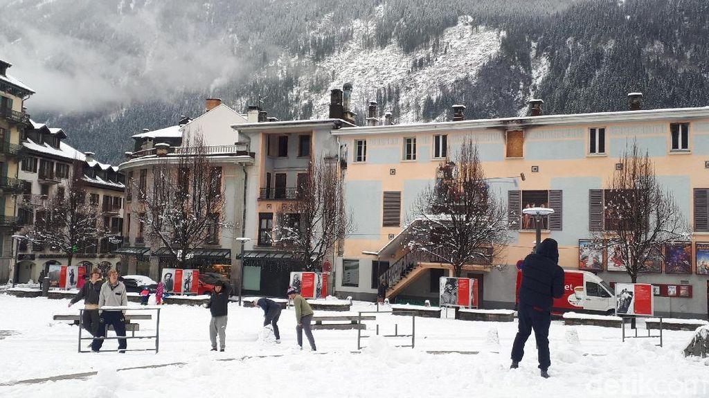 Foto: Tempat Bermain Salju Terbaik di Prancis