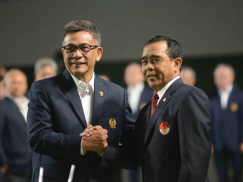 Dilantik Jadi Ketum PP Pelti, Rildo Fokus Regenerasi dan Medali Asian Games