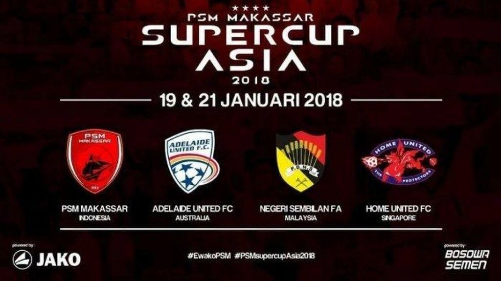Ada Perubahan Peserta dalam Makassar Super Cup Asia 2018