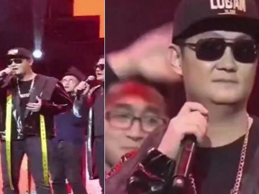 Nyentrik, Orang Terkaya China Bergaya Hip Hop