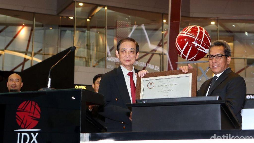 LCK Global Kedaton Resmi Tercatat di BEI