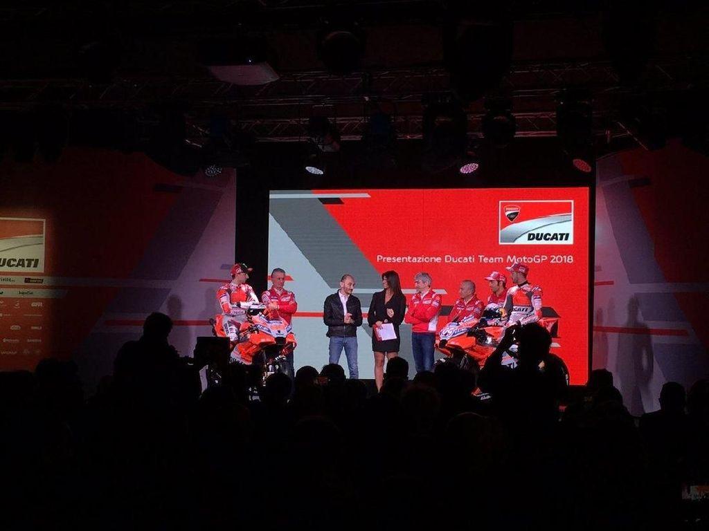 Foto: Desmosedici GP18 Andalan Dovi dan Lorenzo Musim Ini