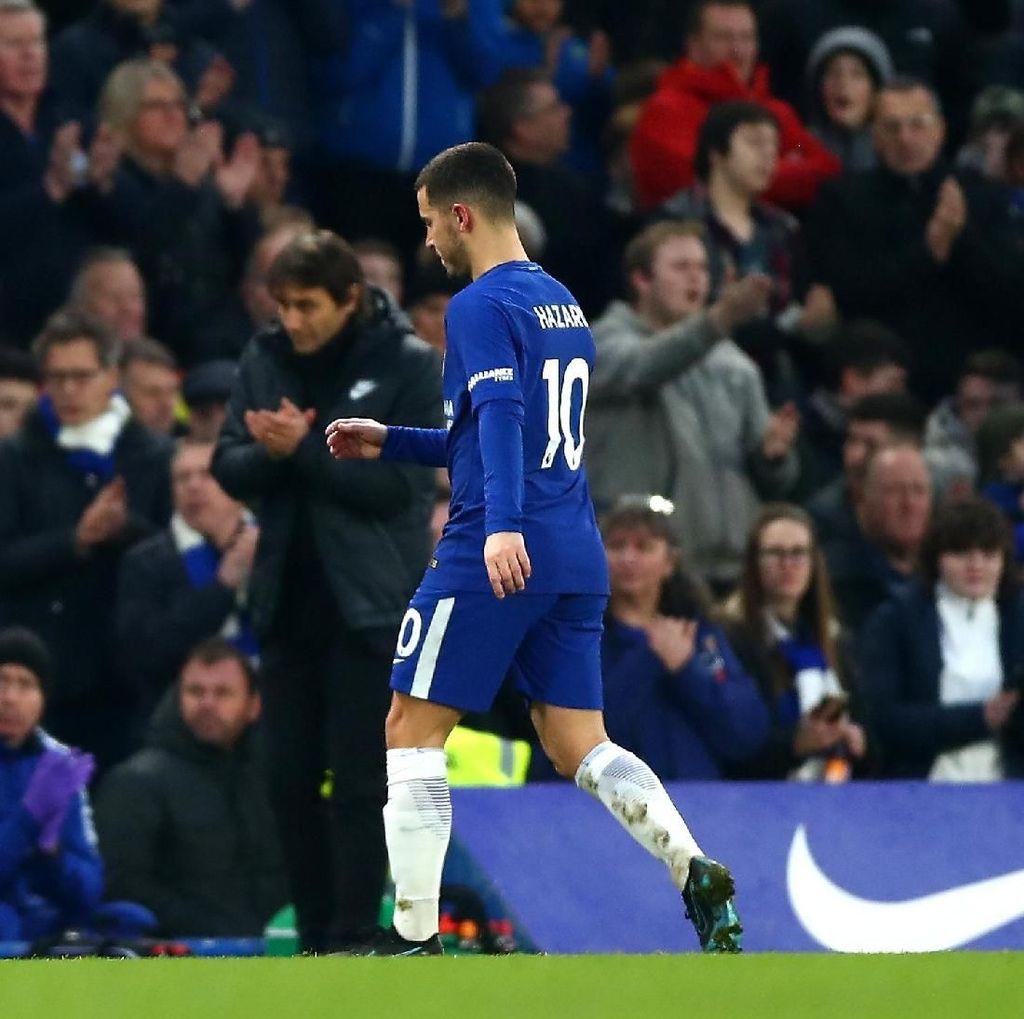 Conte Tak Peduli Andai Hazard Marah karena Diganti