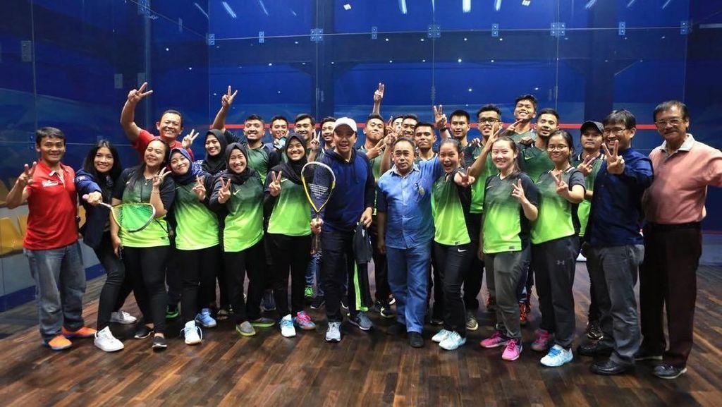 Squash Butuh Lapangan Nomor Ganda dan Lebih Banyak Uji Coba