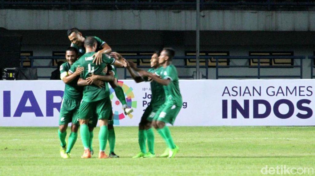 PSMS Kalahkan PSM di Piala Presiden 2018