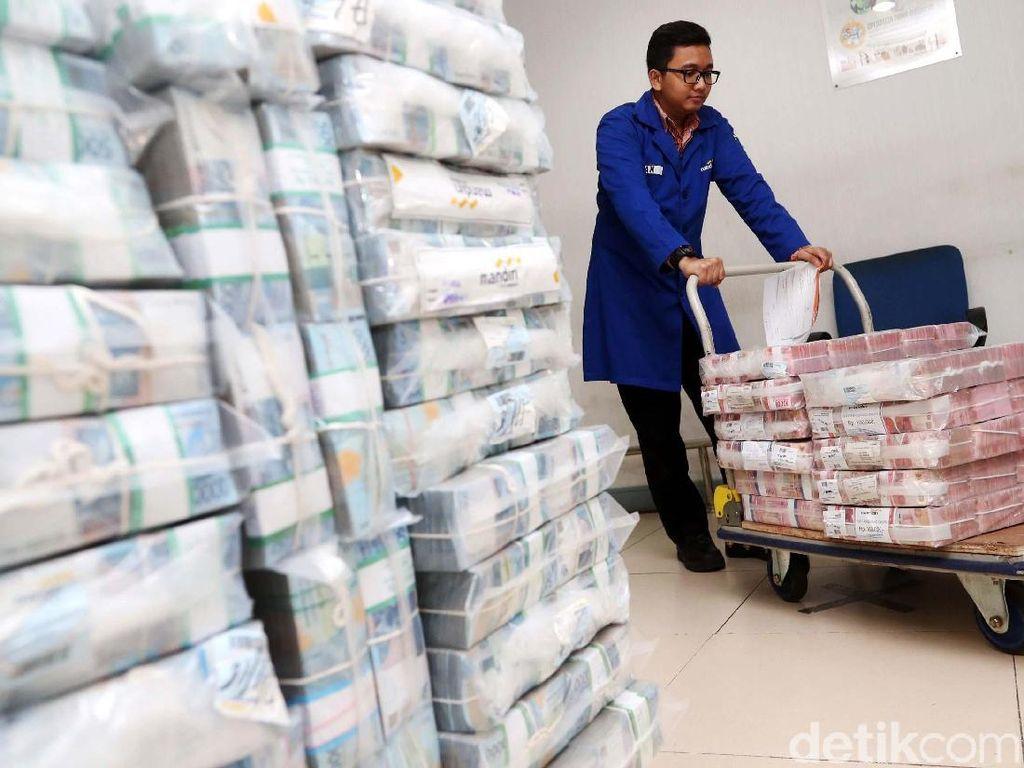 Utang Pemerintah Nyaris Rp 4.000 Triliun
