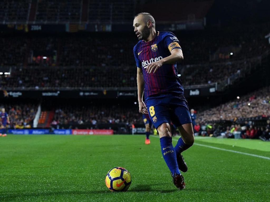 Barcelona Harus Jaga Iniesta Sebaik-baiknya
