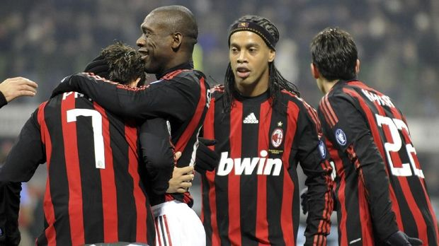 Ronaldinho memberi AC Milan satu titel Scudetto