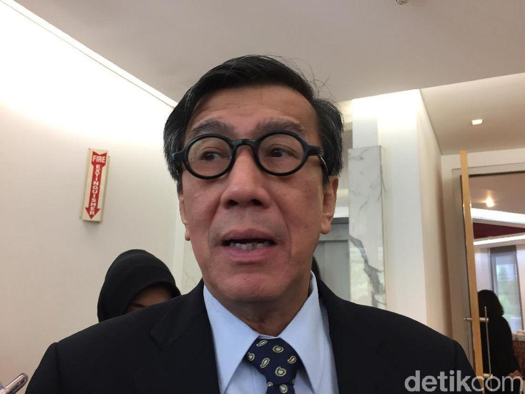 Menkumham Tegaskan Pasal Penghinaan Presiden Bukan Pesanan Jokowi