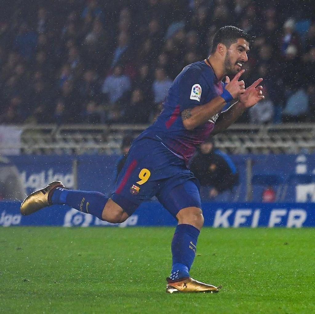 Valverde Tak Pernah Risau dengan Performa Suarez
