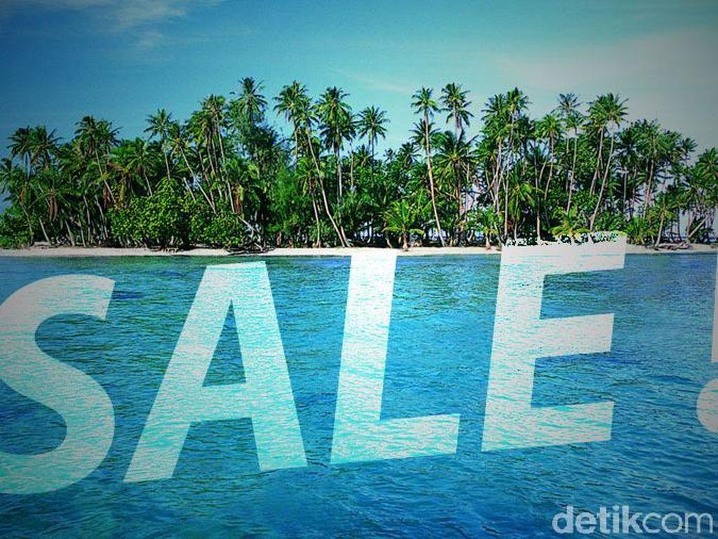 Menengok Pulau di Buton yang Dijual di Situs Jual Beli Online