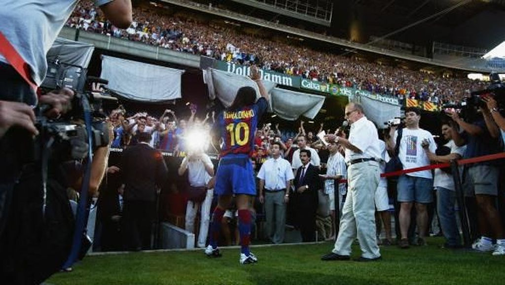 Video Nostalgia Gol-gol Indah Ronaldinho