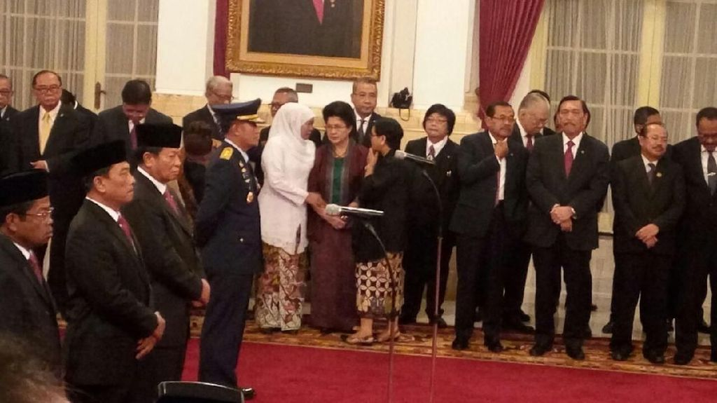 Foto: Menanti Gebrakan Wajah Baru Kabinet Jokowi Usai Reshuffle