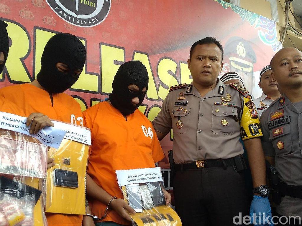 3 Pemuda Cirebon Nekat Jual Tembakau Gorila ke Mahasiswa