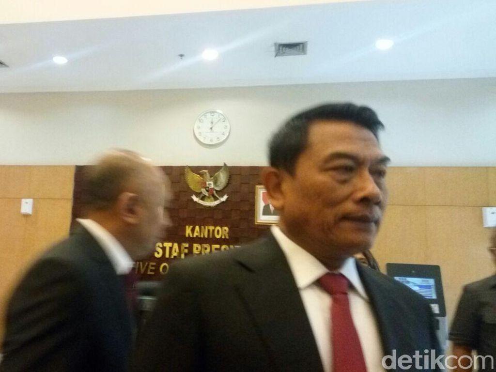 Jokowi Pilih Moeldoko Jadi KSP, PAN: Ini Bernuansa Pilpres