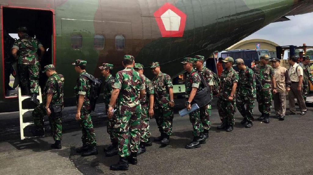 TNI Kirim Satgas Kesehatan ke Asmat Papua