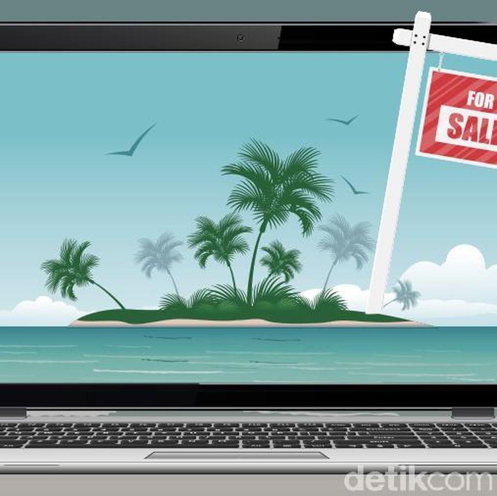 Pemerintah Telurusi Penjual Pulau Indonesia di Situs Online