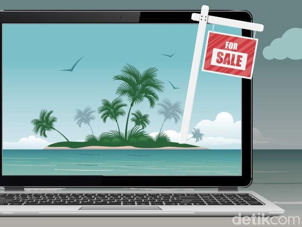 8 Pulau RI Dijual di Situs Daring, Kemendagri Geram