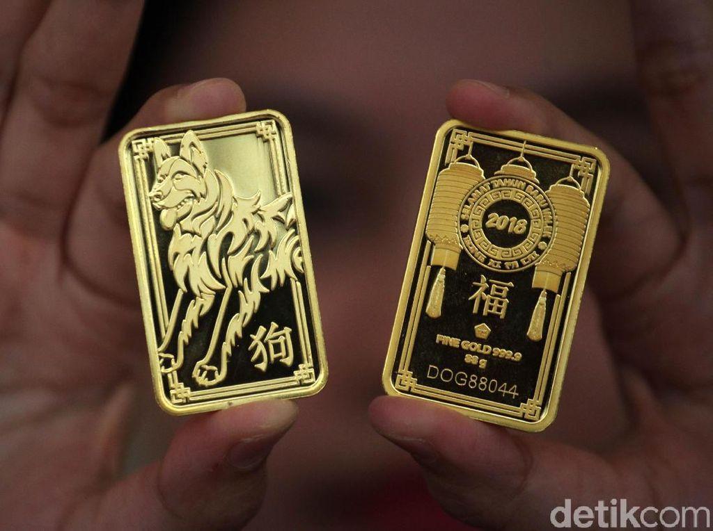 Emas Antam Dijual Rp 665.000/Gram