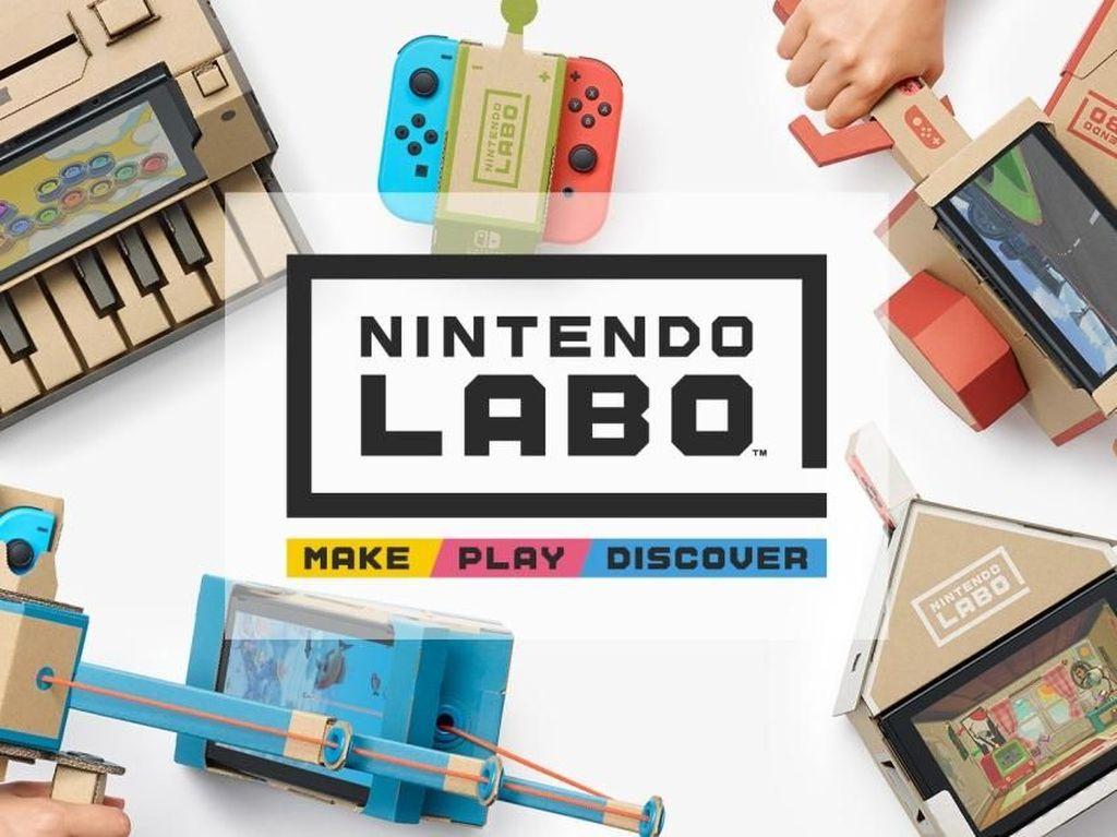 Cardboard Nintendo Bikin Main Switch Tambah Asyik