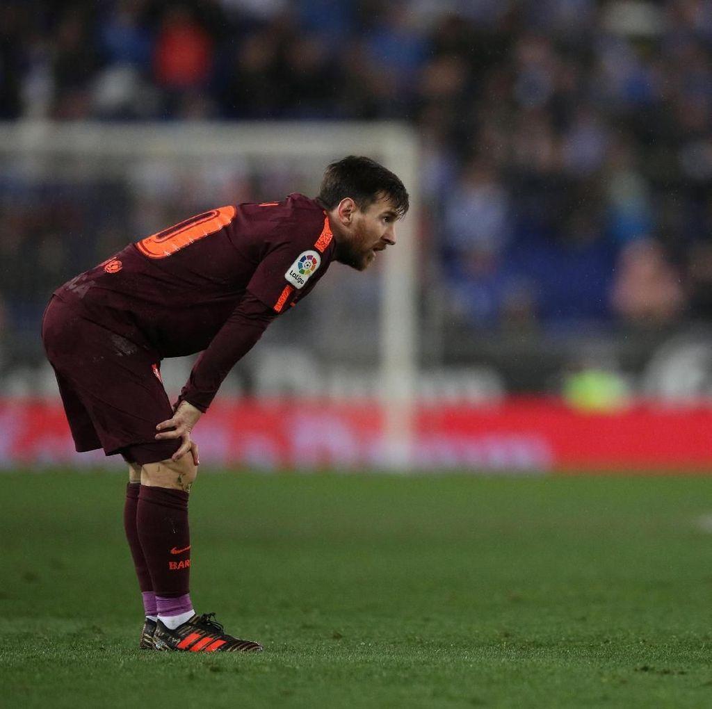 Messi Tak Berdaya di Hadapan Diego Lopez