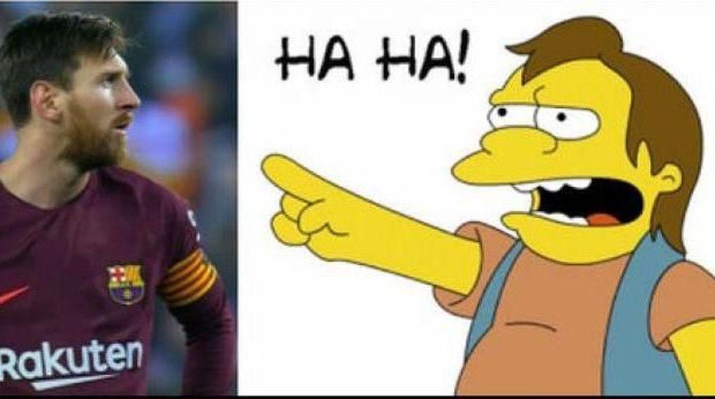 Meme Sindiran untuk Messi yang Gagal 23 Kali Penalti